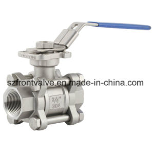 investment casting ss screwed ball valve pictures & photos