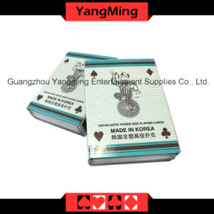 100% Plastic Poker Playing Cards (Korea import) (YM-PC05) pictures & photos