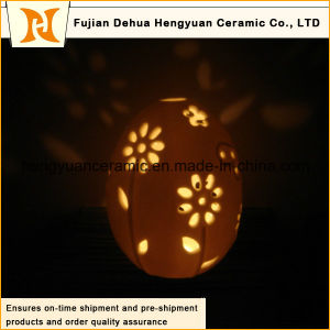 Egg with Flower Hollow out Candle Containers Wholesale pictures & photos