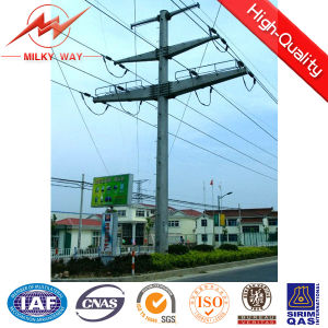 12-15 Meters Electric Pole Designed to Carry of Conductors, Insulators & Cross-Arms pictures & photos