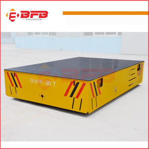 Battery Operated Die Trailer for Heavy Industry Material Handling pictures & photos