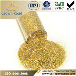 Gold Screen Printing Glitter Powder