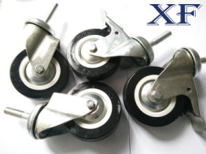 4 Inch PU Swivel Caster Wheel for Industrial Usage pictures & photos