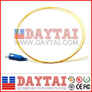Sc/Upc Singlemode Fiber Optic Pigtail 9/125um pictures & photos
