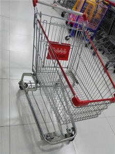 High Quality Supermarket Shopping Trolley in European Style pictures & photos