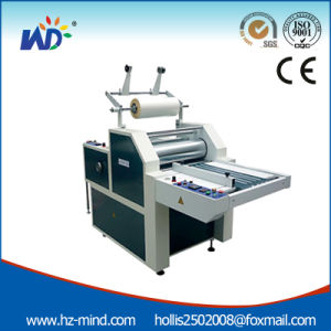 Professional Manufacturer (WD-F920Q) Hydraulic Laminating Machine with Cutter pictures & photos