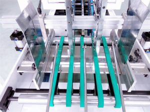 Automatic Packing Machine for Lock Bottom Box Making (GK-650CB) pictures & photos