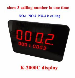 Wireless Call Button System with LED Display for Restaurant Service pictures & photos