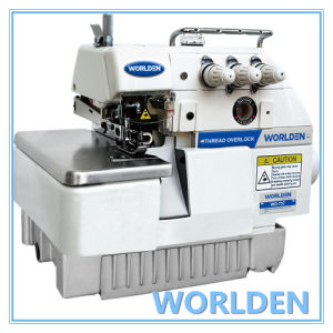 Wd-737 Three Thread Overlock Sewing Machine pictures & photos