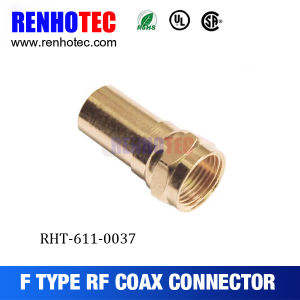 Coax Cable F Connector Plug Straight pictures & photos