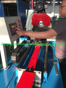 Larger Diameter Plm-Qg425CNC Automatic Pipe Cutting Machine pictures & photos