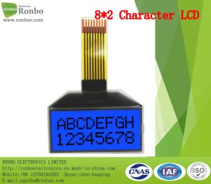 8X2 Character LCD Screen, I2c Interface, FSTN/Gray LCD Panel, FPC 8pin Cog LCM pictures & photos