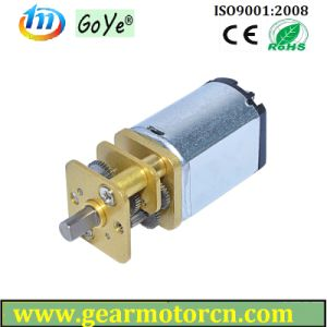 Used for Electric Lock Valve Round 12mm Diameter DC Gear Motor pictures & photos