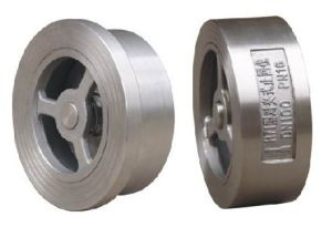 Stainless Steel Wafer Check Valve for Industry Use pictures & photos