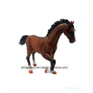 Simulation Running Horse Animal Toy with Realistic Cotton Stuffed Toy pictures & photos