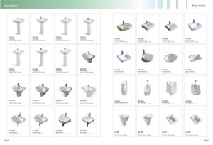 White Color Ceramic W. C. Toilet Pan with S Trap Way pictures & photos