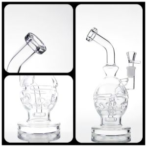 Glass Smoking Pipe Newest and Best Quality Glass Recycler Colorful pipe High Quality