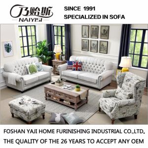 American Country Style Leisure Fabric Sofa for Home Furniture M3008 pictures & photos