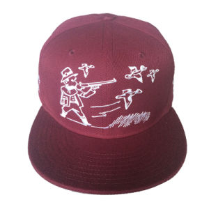 Cotton Cap with Interesting Logo in Embroidery Hat′s for New Year pictures & photos