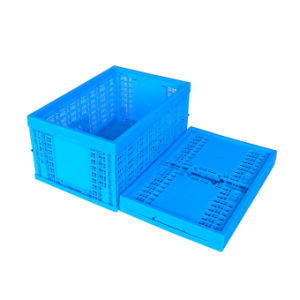 Stacked Large Plastic Fruit and Vegetable Crates Factory Supplier pictures & photos