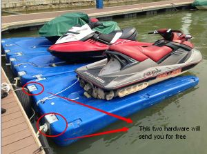 Hot Sell Marina Floating Cube /Pontoon Dock Cheap Price pictures & photos
