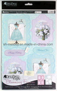 Exiqusite Foil Paper Craft Toppers Blooming Frames pictures & photos