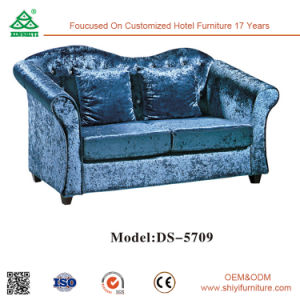 5 Star Hotel Lobby Furniture Set Lounge Seating Faux Leather Sectional Sofa pictures & photos