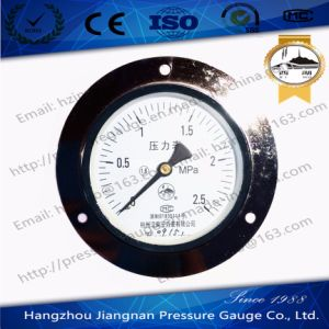 2.5MPa General Pressure Gauge with Front Flange pictures & photos