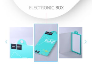 Customized Stylish Cardboard Plastic Electronics Accessories Packing Box pictures & photos