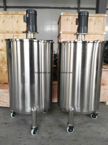Good Quality 3000 Liter Stainless Steel Syrup Slush Premix Tanks pictures & photos