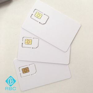 Three Type/Sizes Blank Micro Phone SIM Cards pictures & photos