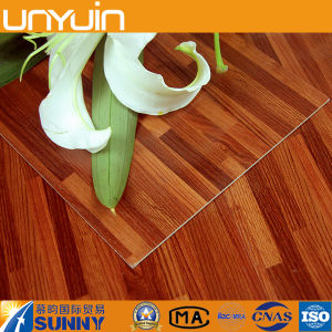 Self Adhesive Plastic Wood Grain PVC Vinyl Flooring