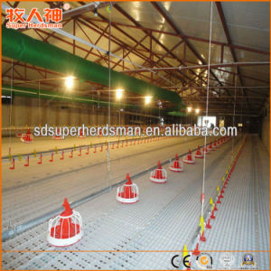 Floor Breeding Broiler Production Poultry Equipment pictures & photos