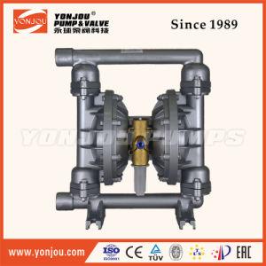 Qby Pneumatic Diaphragm Pump PTFE Lined Wite Teflon Diaphram pictures & photos