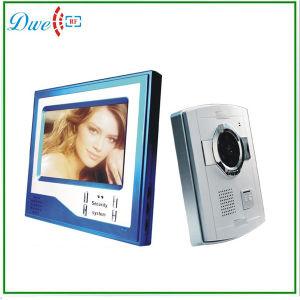 Video Door Phone 7 Inch Intercom System Blue Indoor Monitor pictures & photos