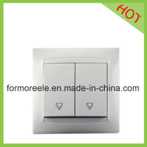 Russian Type Wall Switch with Two Button pictures & photos