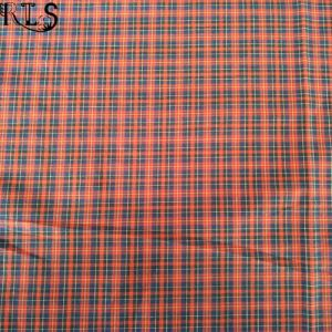 100% Cotton Poplin Yarn Dyed Fabric for Shirts/Dress Rls50-21po