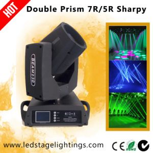 Double Prism Moving Head Beam 230 7r/5r Osram Lamp pictures & photos