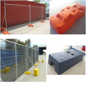 PE Made Australia Blow Molded Temporary Fence Base for Sale (XMS20) pictures & photos