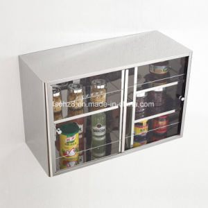 Stainless Steel Furniture Durable Product Kitchen Storage Cabinet (7033) pictures & photos