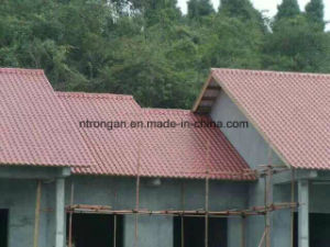Composite Synthetic Resin Roofing Tiles Manufacturer pictures & photos
