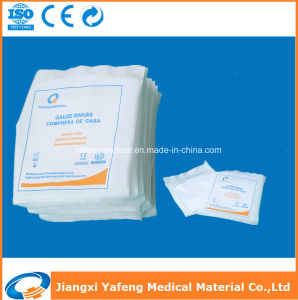 100% Cotton Disposable Sterile Gauze Swab for Medical Use pictures & photos
