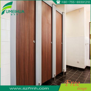 White Color Compact Laminate Material Shower Cubicle for Gym pictures & photos