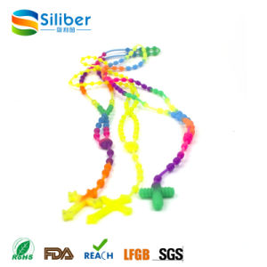 Silicone Necklace Wholesale/Food-Safe Baby Enjoy Bead Necklace pictures & photos