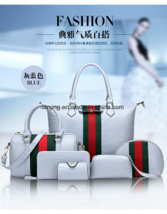 Fashion Lady Handbags Online-Selling Tote-Bag Women Cheap Leather Cosmetic Bags pictures & photos