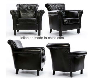 Modern Design Sofa Furniture Leather Single Sofa Chair (LL-BC081) pictures & photos