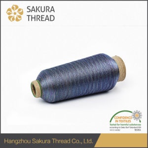 Metallic Thread with Highly Attractive Glorious Gloss and Wide Color Serious pictures & photos