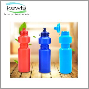 Three Colors High Quality Plastic Water Bottle pictures & photos