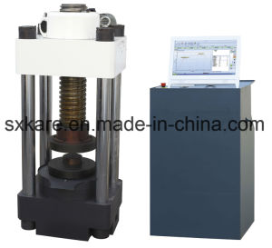 Electric Elevating Computerized Servo Compression Testing Machine (YAW-3000D) pictures & photos