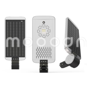 30W Waterproof Solar Powered LED Street Light Integrated Infrared Sensors pictures & photos